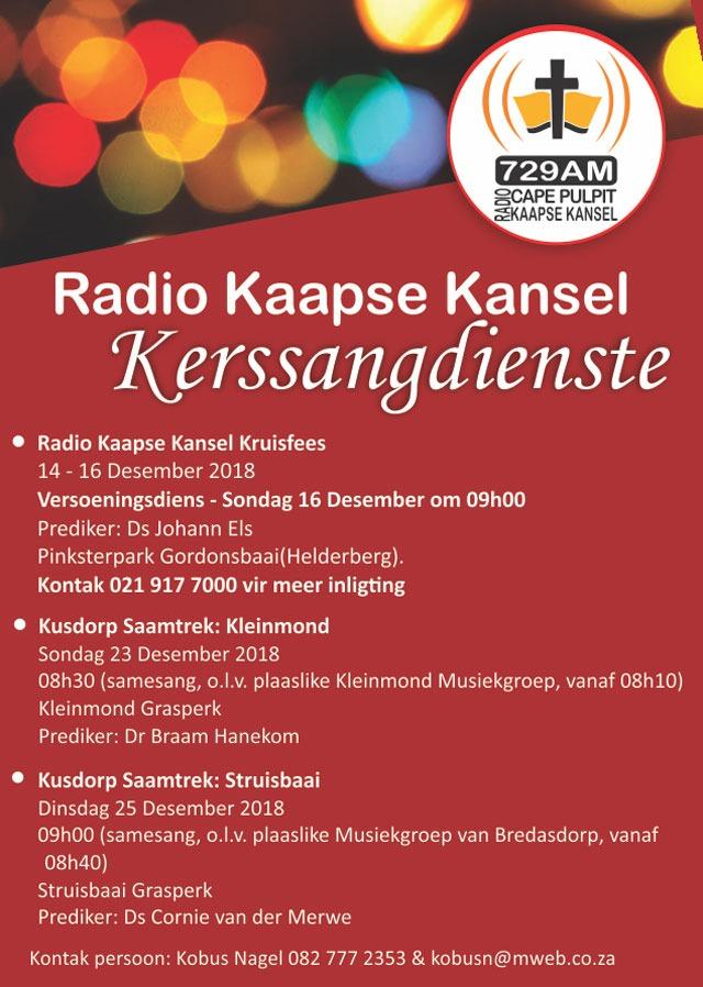 Radio Kaapse Kansel Kerssangdienste